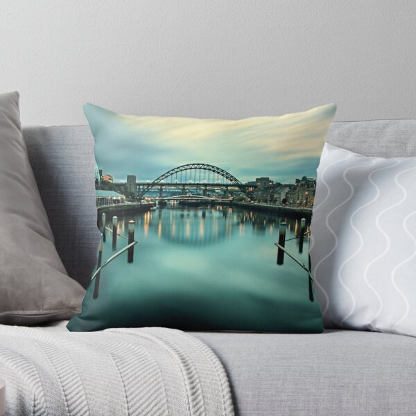Newcastle Upon Tyne Pillows Cushions Redbubble
