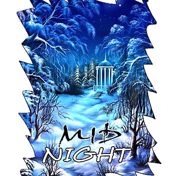midnight tshirt and art by billyva