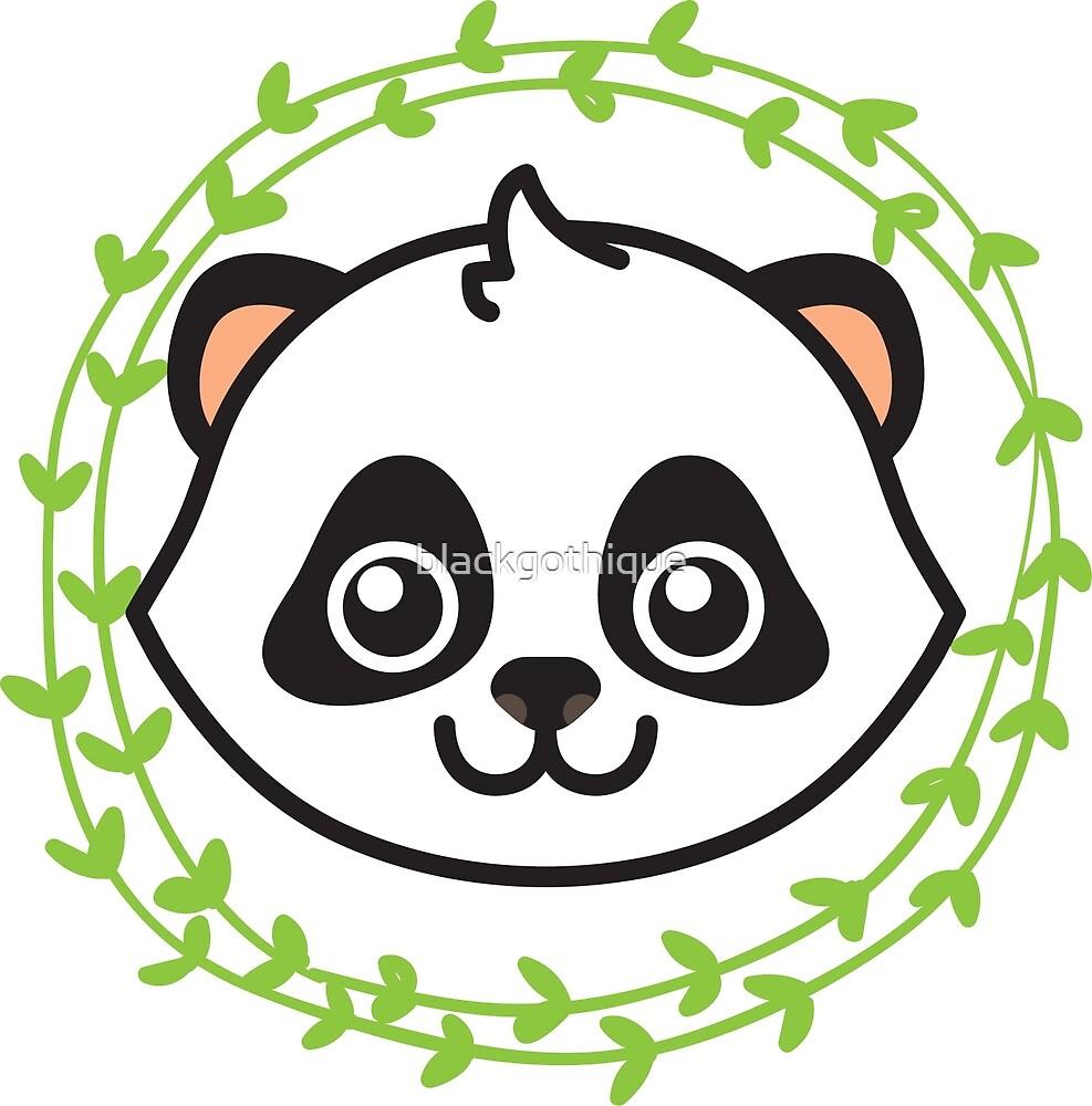 Panda-kun by blackgothique