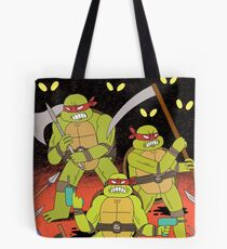 TURTLES FIGHTERS Tote Bag