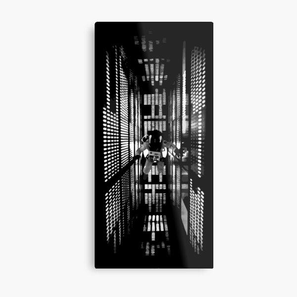 2001: Une Odyssée de l'Espace (1968) Impression métallique