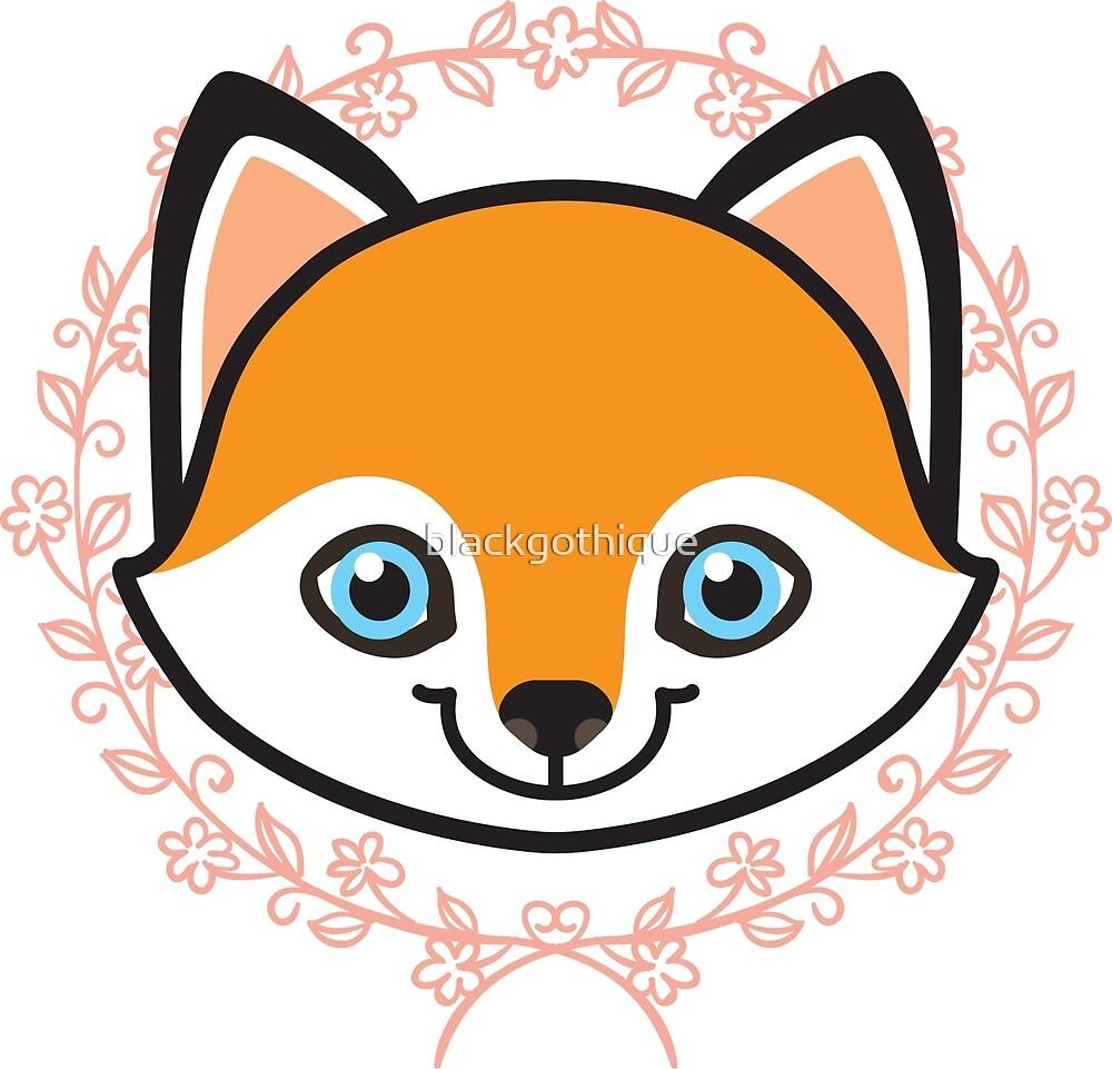 Foxy-kun by blackgothique