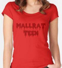 MALLRAT TEEN Tailliertes Rundhals-Shirt