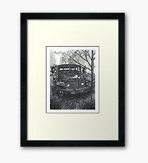 Abandoned Old Truck - www.jbjon.com Framed Print