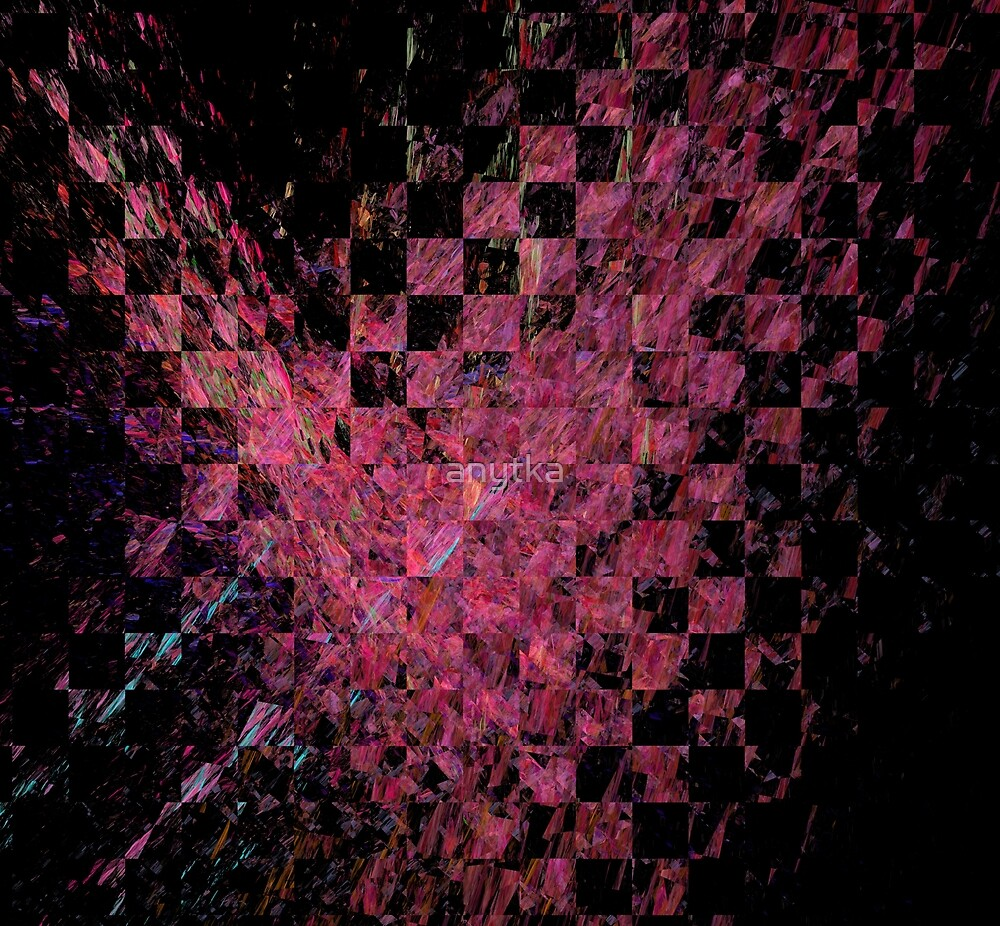 Fractal with abstract heart by anytka