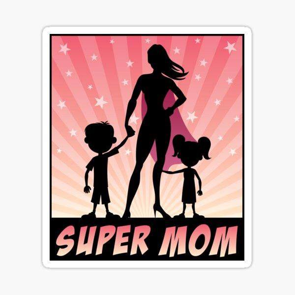 Super Mom Sticker