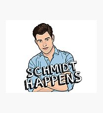 Schmidt Happens Photographic Print