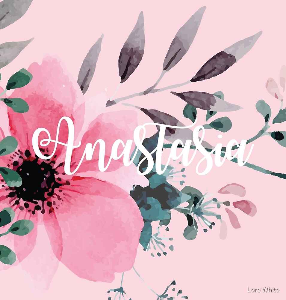 Floral Personalised by Lore White