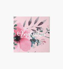 Floral Personalised Art Board