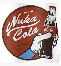 Fallout nuka cola logo, Poster
