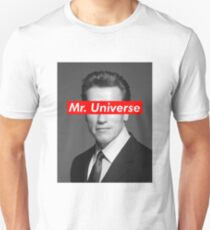 Mr. Universe Arnold Schwarzenegger Unisex T-Shirt