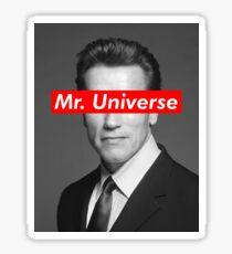 Mr. Universe Arnold Schwarzenegger Sticker