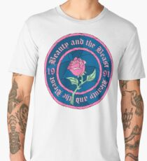 Beauty and the Beast Men's Premium T-Shirt