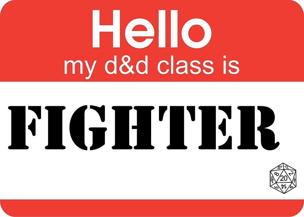 My class is FIGHTER by Teayl