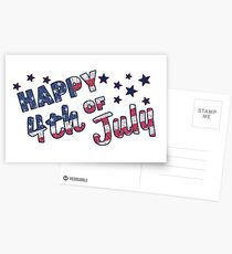 Happy 4th of July! Postcards