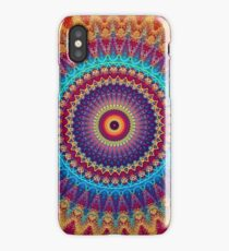 Fire and Ice Mandala iPhone Case