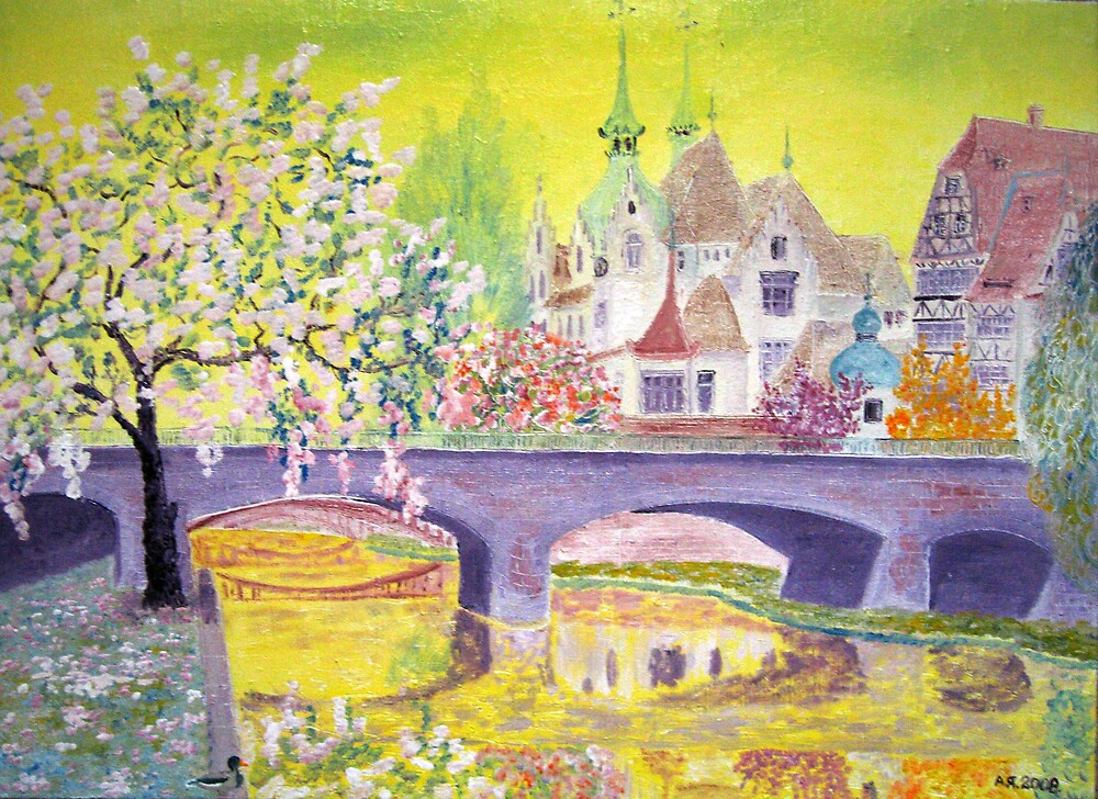 April. Strasbourg. by Alexey Yarygin