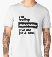 Oasis - Supersonic Lyrics design Men's Premium T-Shirt