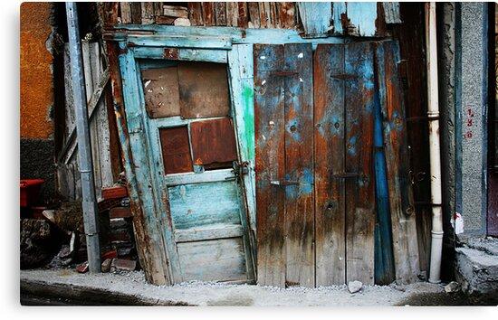 Falling Door by Joshua Wentz