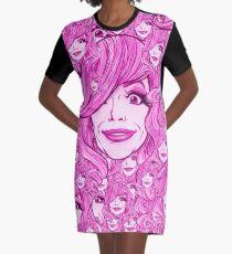 MICHAEL TWAITS - PRIDE PRINT - BOLD QUEENS Graphic T-Shirt Dress