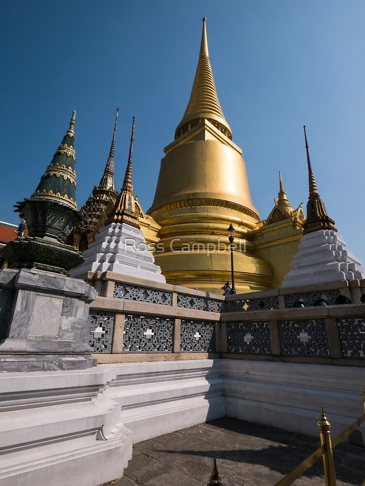 The Grand Palace, Bangkok, Thailand by Ross Campbell