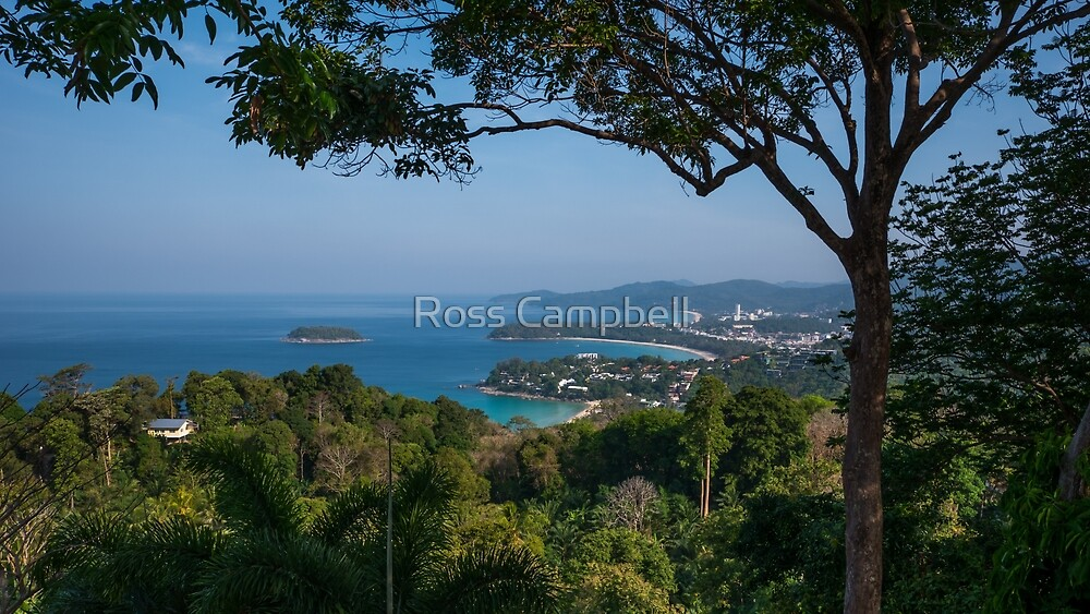 Karon Viewpoint, Phuket, Thailand by Ross Campbell