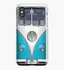 Retro, Nostalgic Hippie Van iPhone Case/Skin