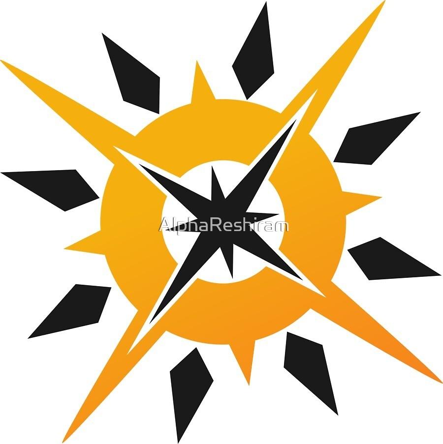Pokémon Ultra Sun Logo by AlphaReshiram