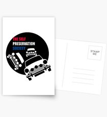 Classic Mini Cooper S - Italian Job Postcards