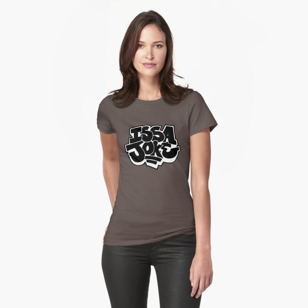 Issa Joke Womens T-Shirt Front