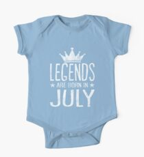 Legends are born in July shirt Kids Clothes