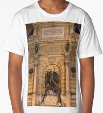 Historic Fontaine Saint-Michel © Long T-Shirt
