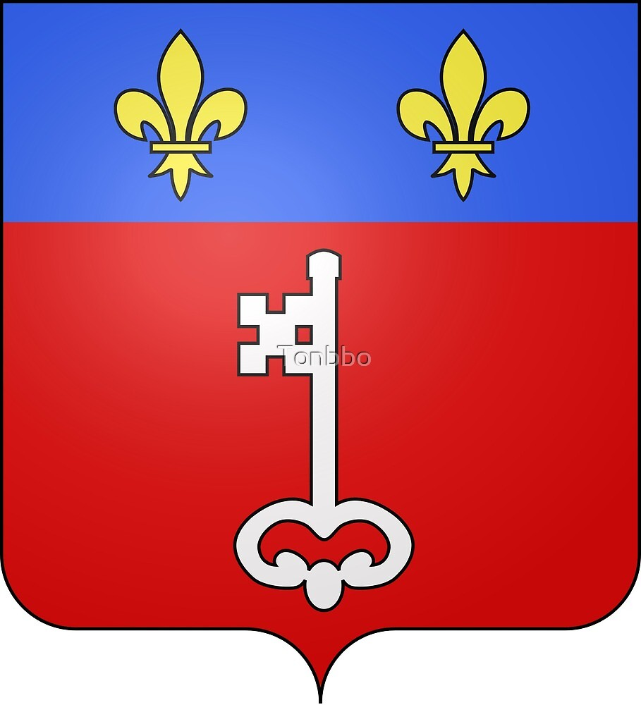Angers coat of arms, France by Tonbbo