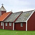 Old church of Ardal - Norway by Arie Koene