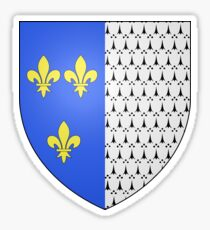 Coat of Arms of Brest, France Sticker