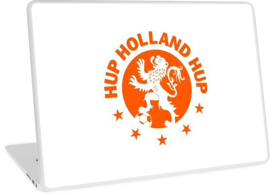 Hup Holland Orange Dutch Soccer Lion Netherlands Football by superdazzle