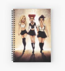 We are the weirdos, sistahs! Spiral Notebook