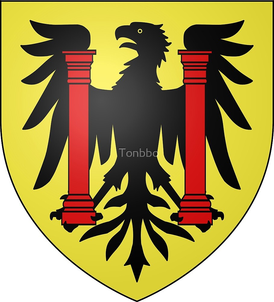 Coat of Arms of Besançon, France by Tonbbo