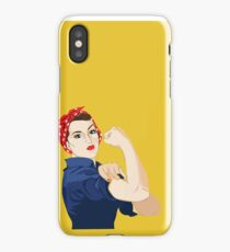 Rosie Riveter iPhone Case