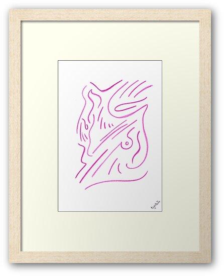 0801 - Simplification in pure Pink von tigerthilo