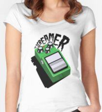 The Tube Screamer Women's Fitted Scoop T-Shirt