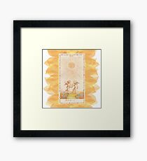 Il Sole Framed Print