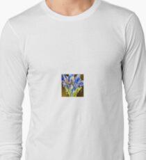 Blue Broccoli Long Sleeve T-Shirt