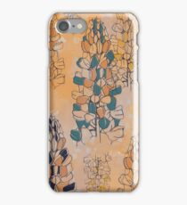Partially Coloured Lupin iPhone Case/Skin