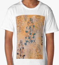Partially Coloured Lupin Long T-Shirt