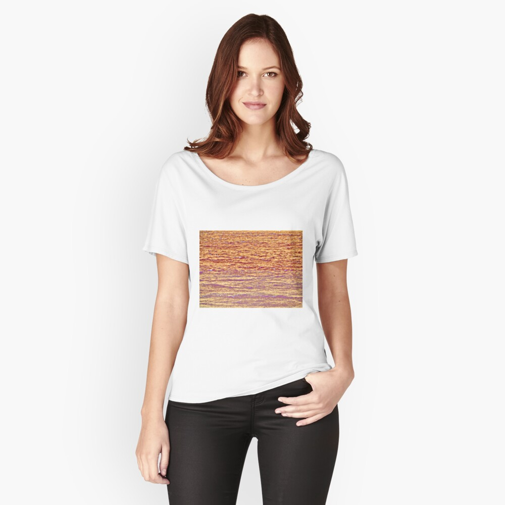 Sunset Over Water III Women's Relaxed Fit T-Shirt Front