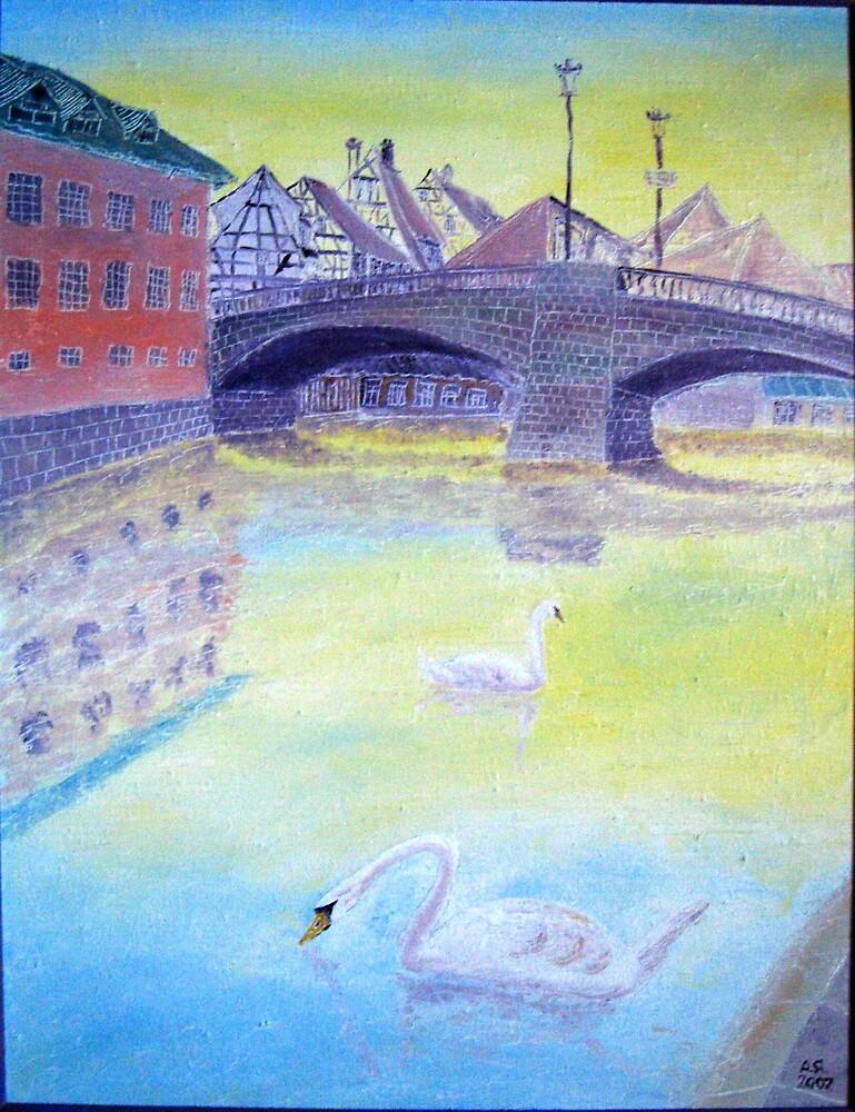 Strasburg.Swans. by Alexey Yarygin