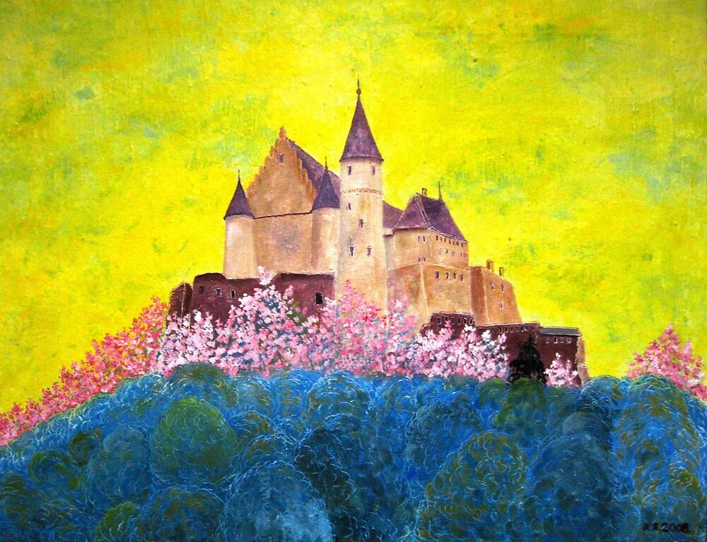 Vianden Castle by Alexey Yarygin