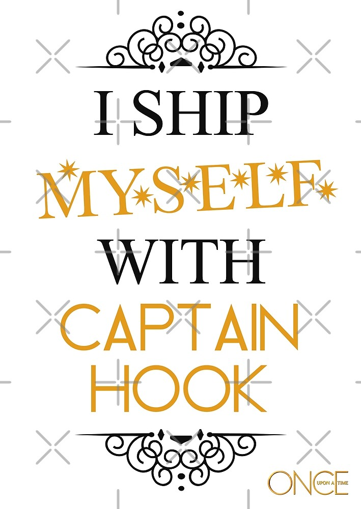 I ship myself with Captain Hook by AllieConfyArt