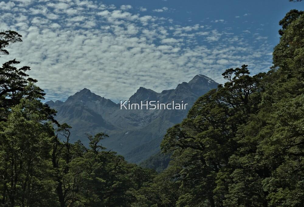 Distant Peaks by KimHSinclair